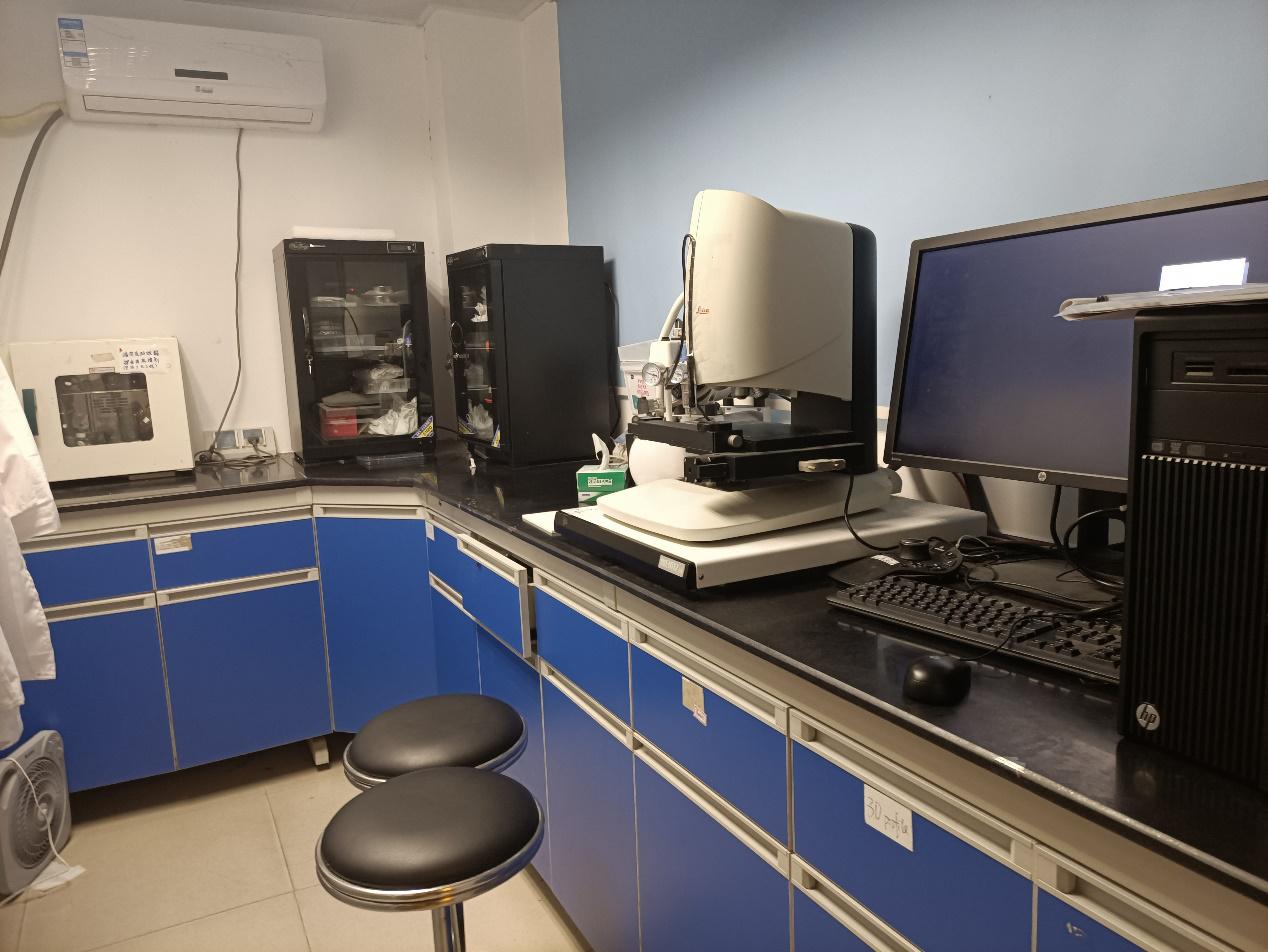 液晶高分子材料实验室---测试间