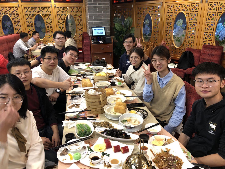 2020年12月 Dirm实验室学生团队聚餐