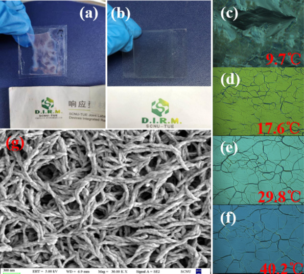 Flexible thermal responsive infrared reflector based on cholesteric liquid crystals and polymer stabilized cholesteric liquid crystals