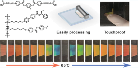 Reversible thermochromic photonic coatings with a protective topcoat